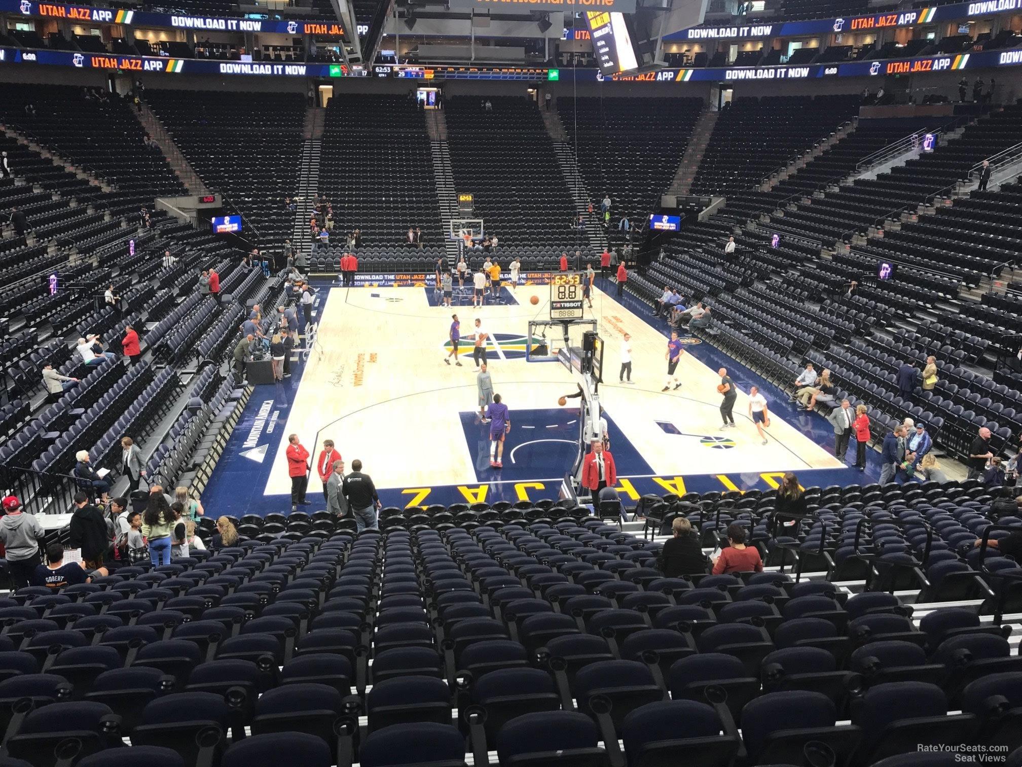 Section 2 At Vivint Arena Utah Jazz Rateyourseats Com