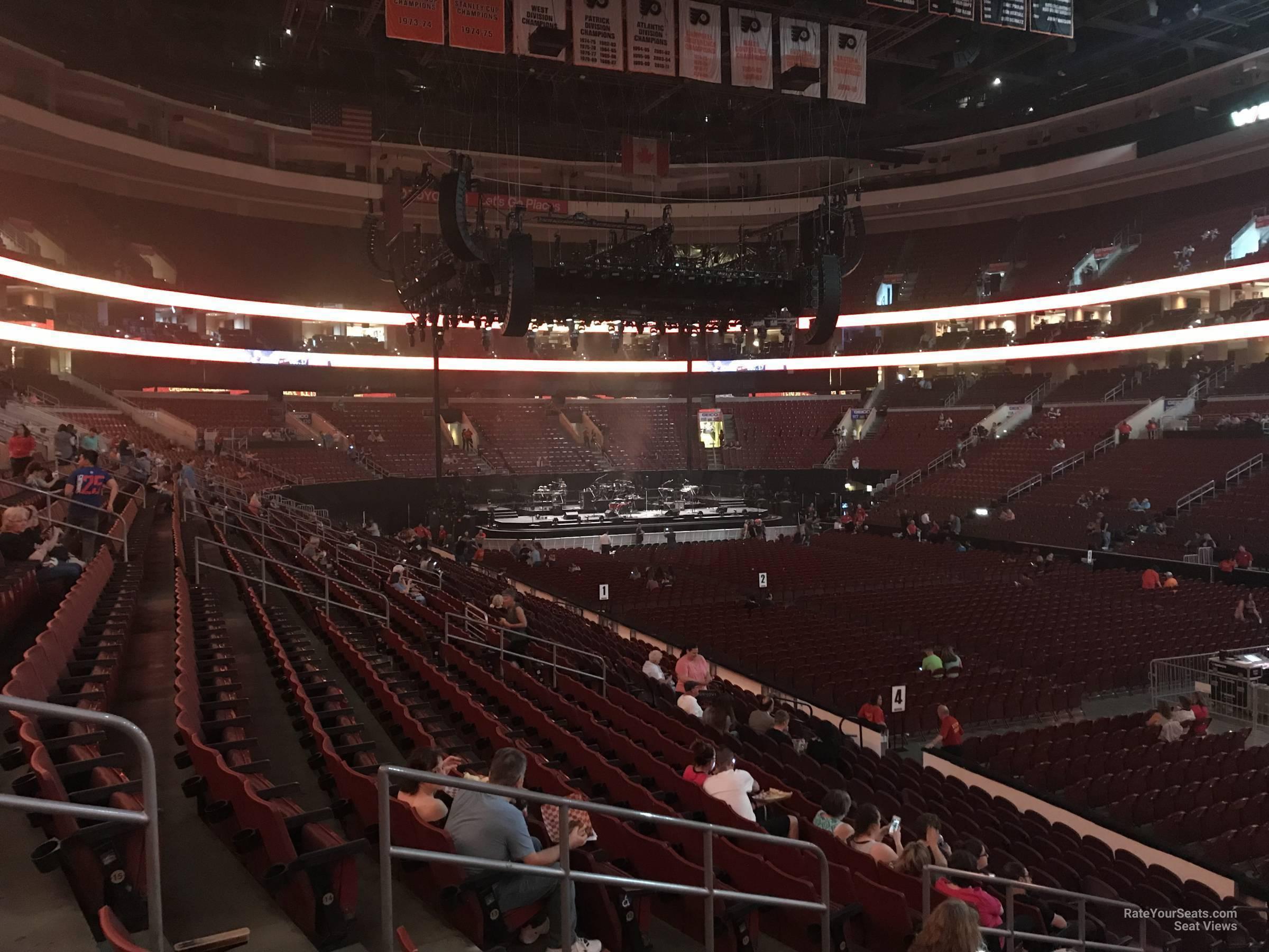 Wells Fargo Center Section 104 Concert