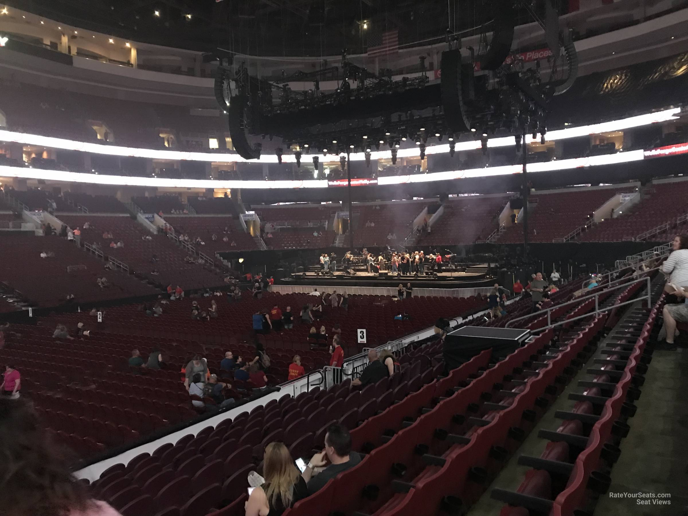 Section 111 At Wells Fargo Center For Concerts Rateyourseats Com