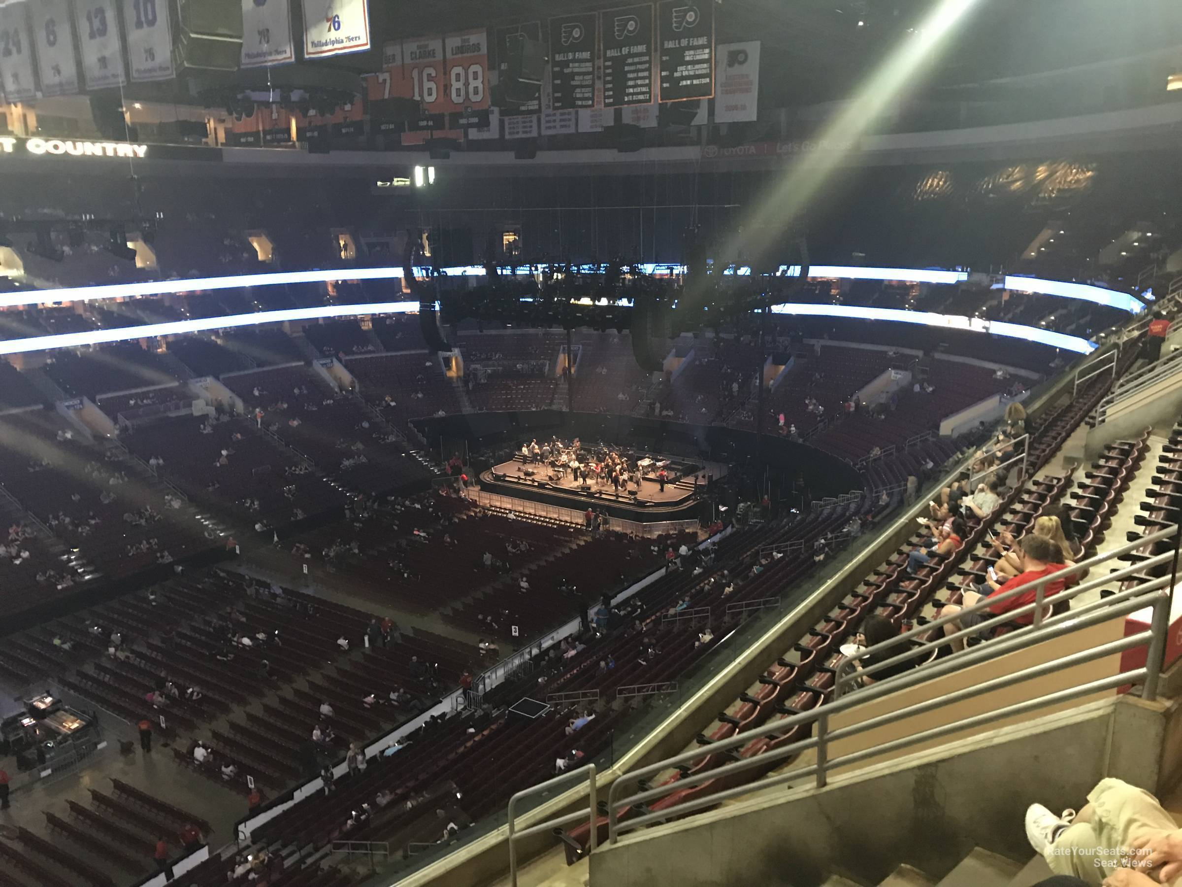 Section 210a At Wells Fargo Center For Concerts Rateyourseats Com
