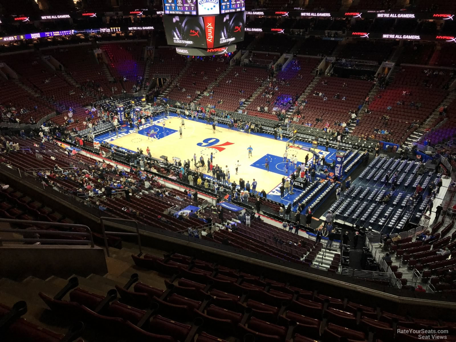 Section 204 At Wells Fargo Center Philadelphia 76ers