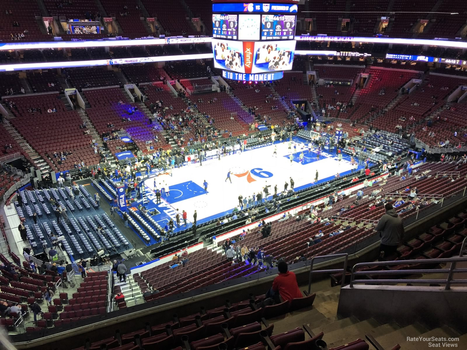 Section 210a At Wells Fargo Center Philadelphia 76ers