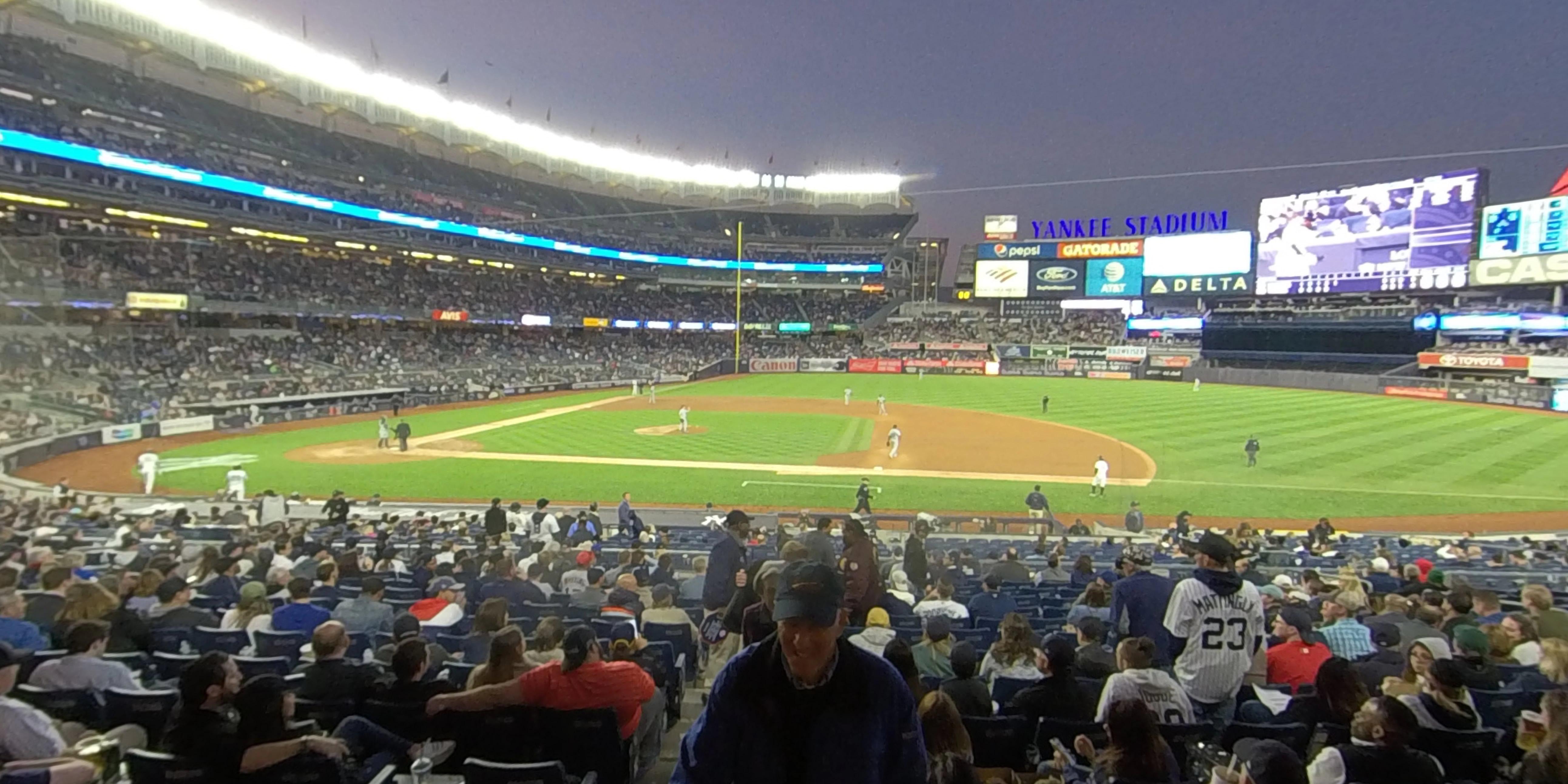 Yankee Stadium Section 116 - New York Yankees ...