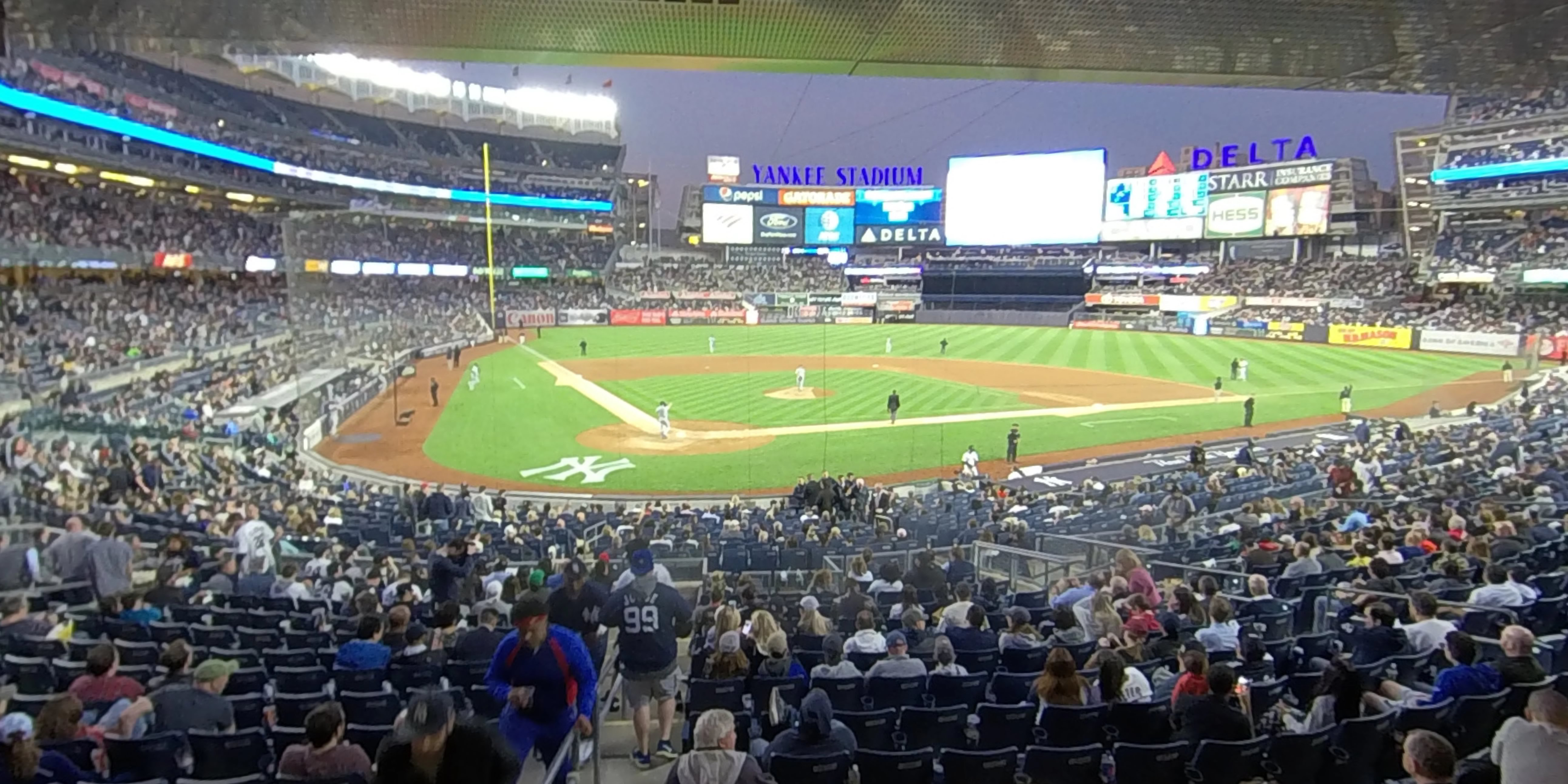 Yankee Stadium Section 119 - New York Yankees ...