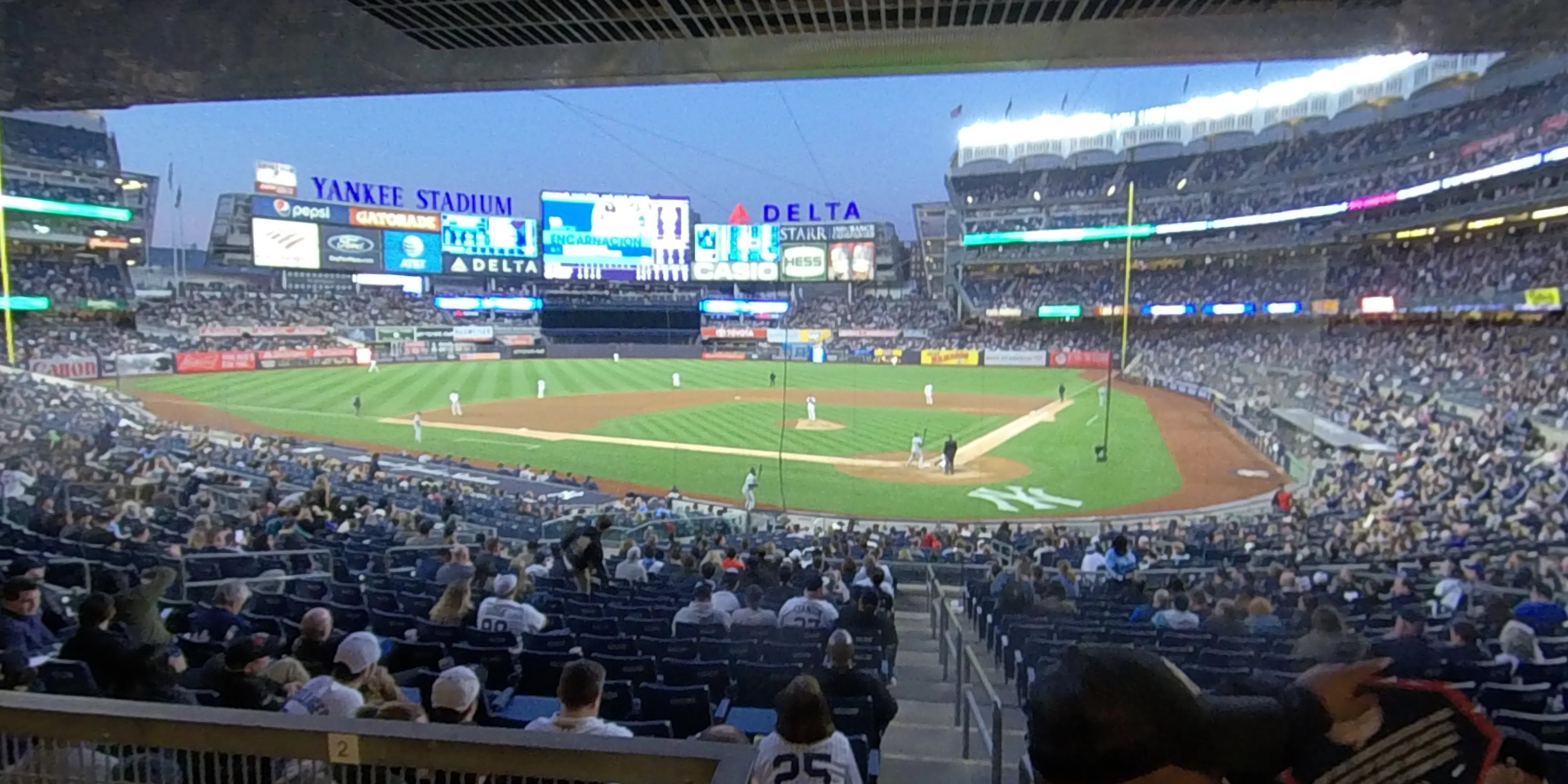 Yankee Stadium Section 121A - New York Yankees