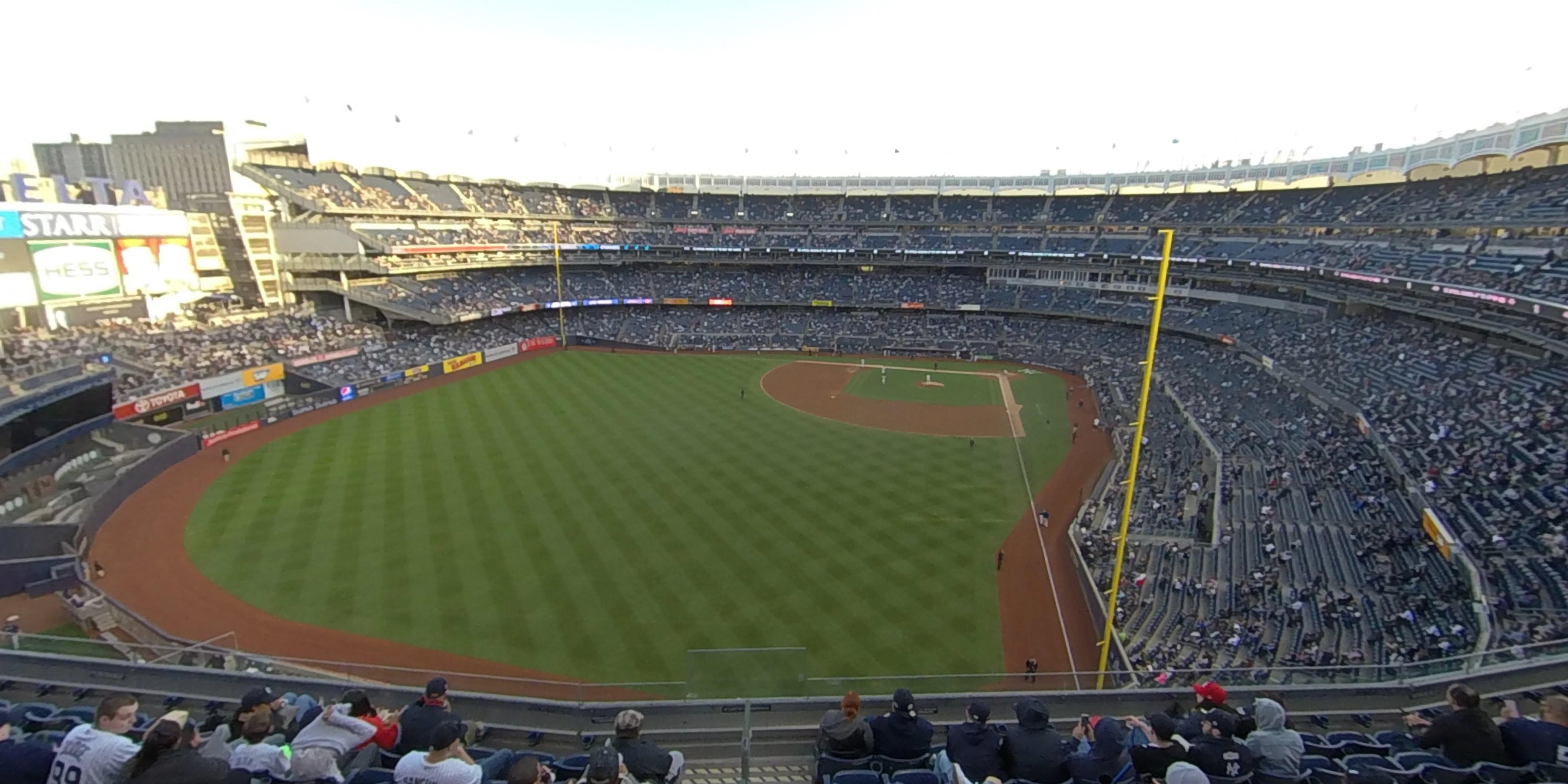 Section 333 At Yankee Stadium New York Yankees Rateyourseats Com