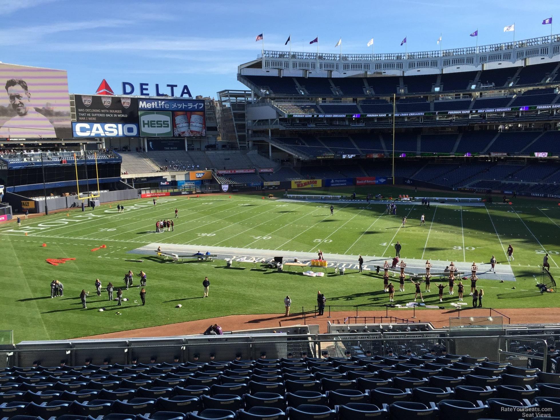 Yankee Stadium Section 229 Football Seating Rateyourseatscom