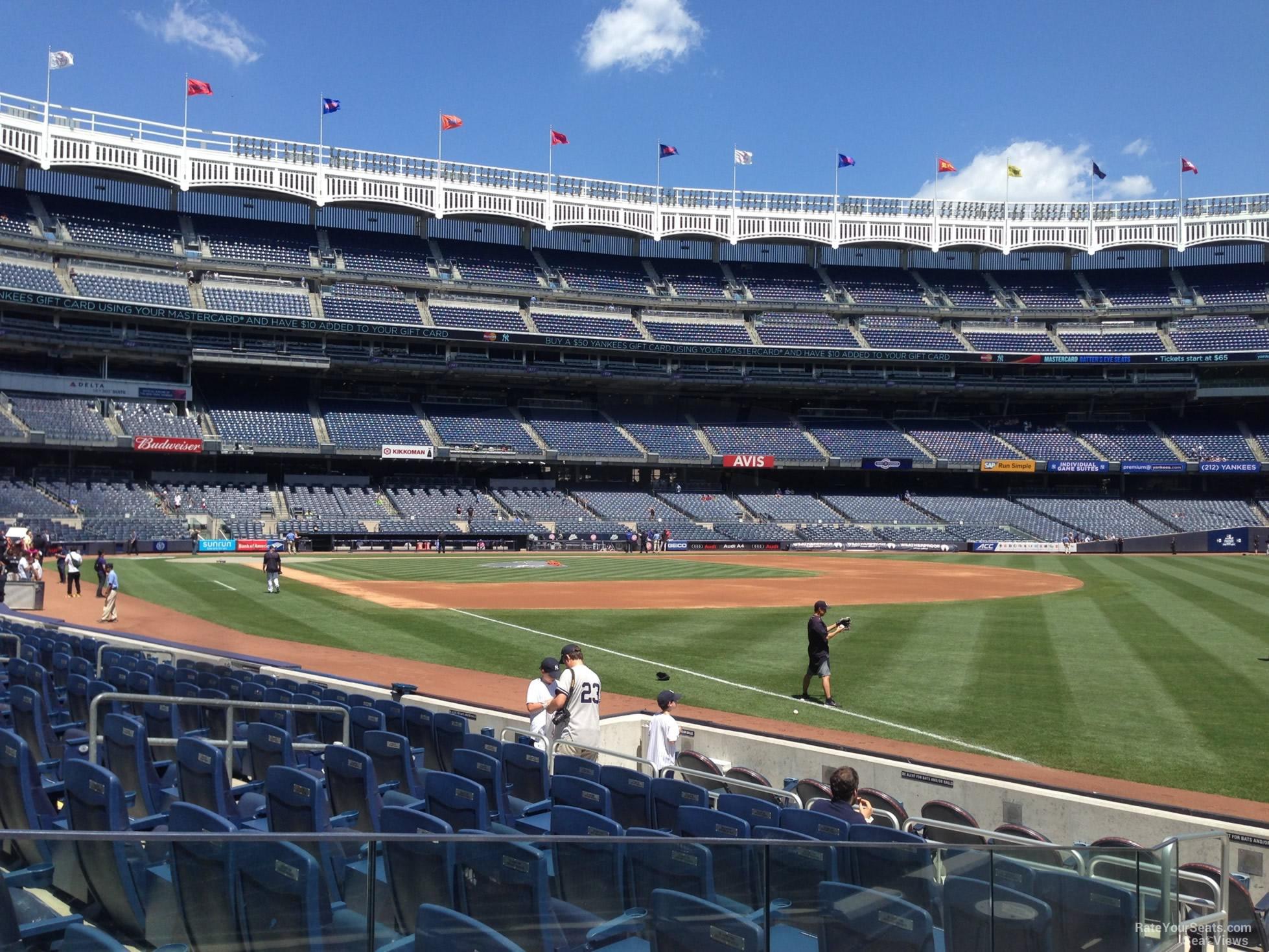 Yankee Stadium Section 111 - New York Yankees ...