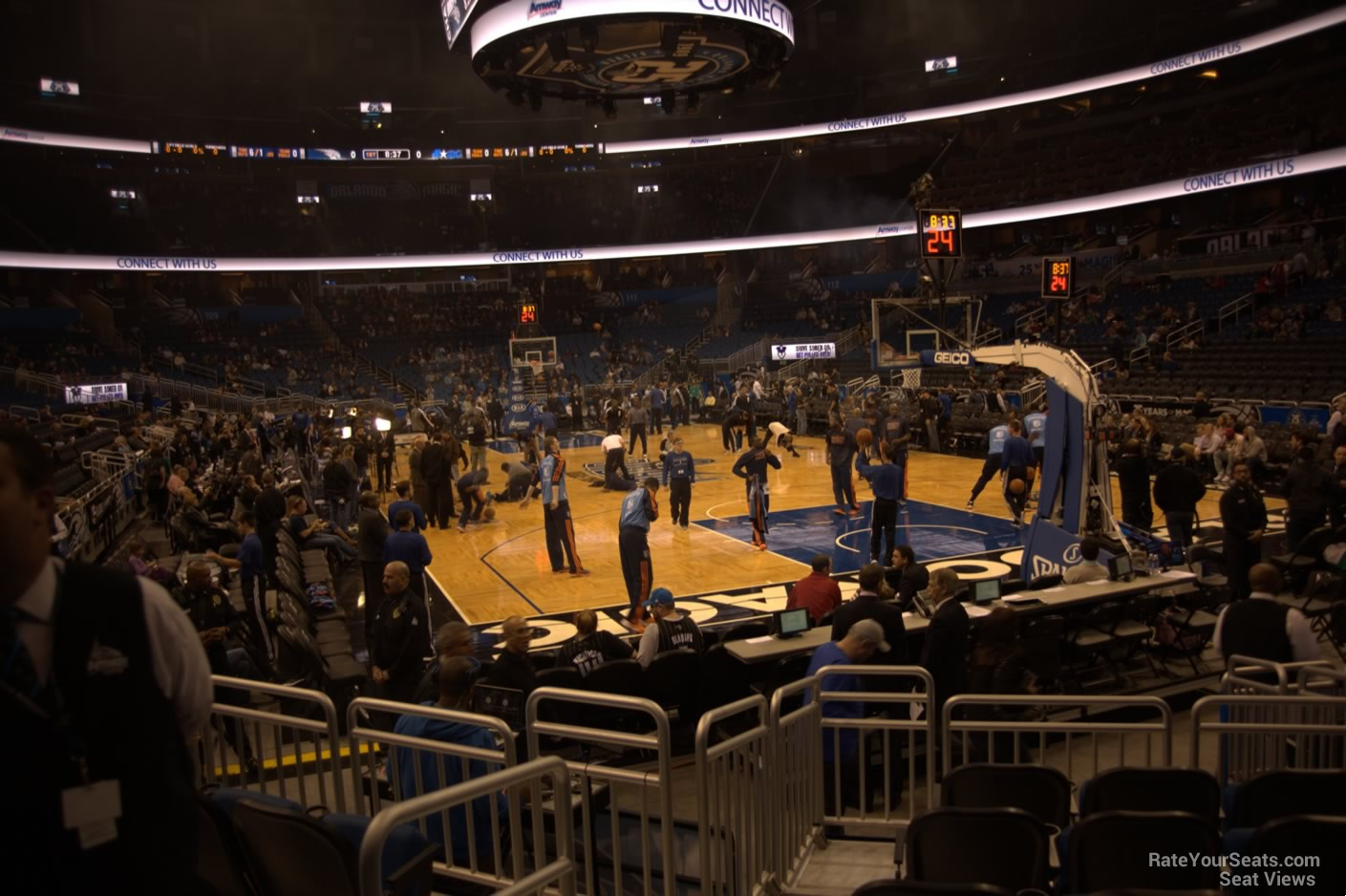 Seat View for Amway Center Section 102
