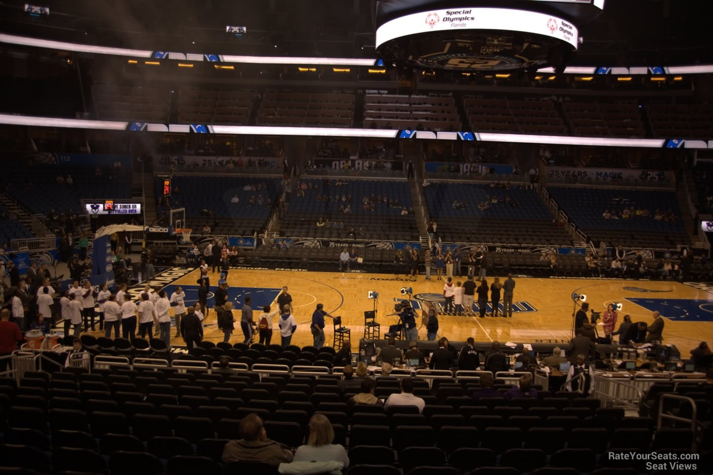 Seat View for Amway Center Section 106, Row 18