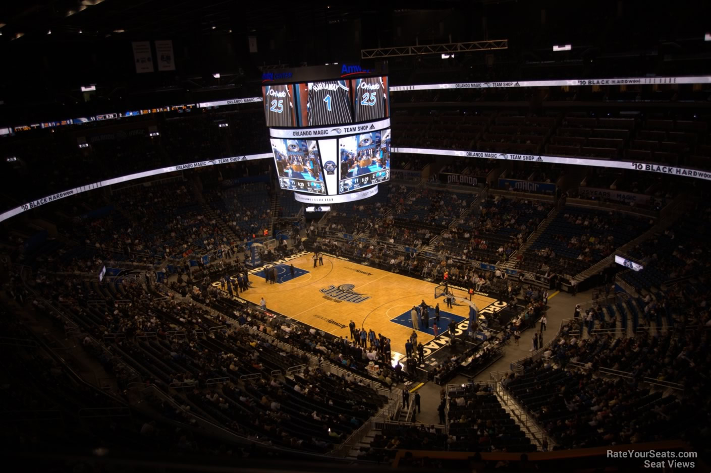 Seat View for Amway Center Section 205