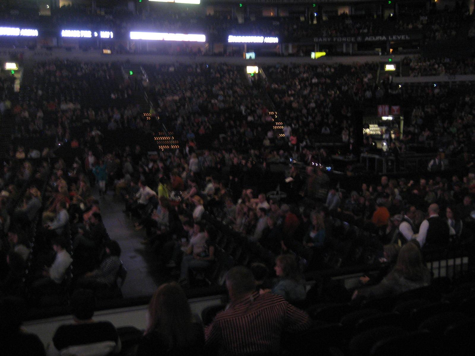 Floor 2 At Bridgestone Arena For Concerts Rateyourseats Com