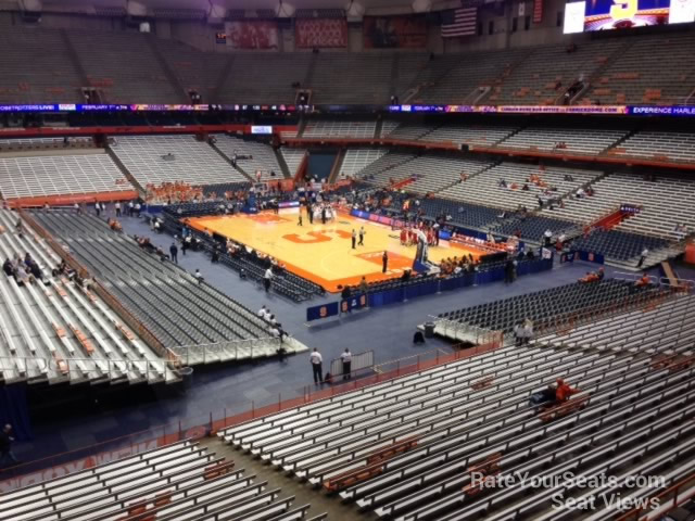Carrier Dome Section 318 - Syracuse Basketball ...