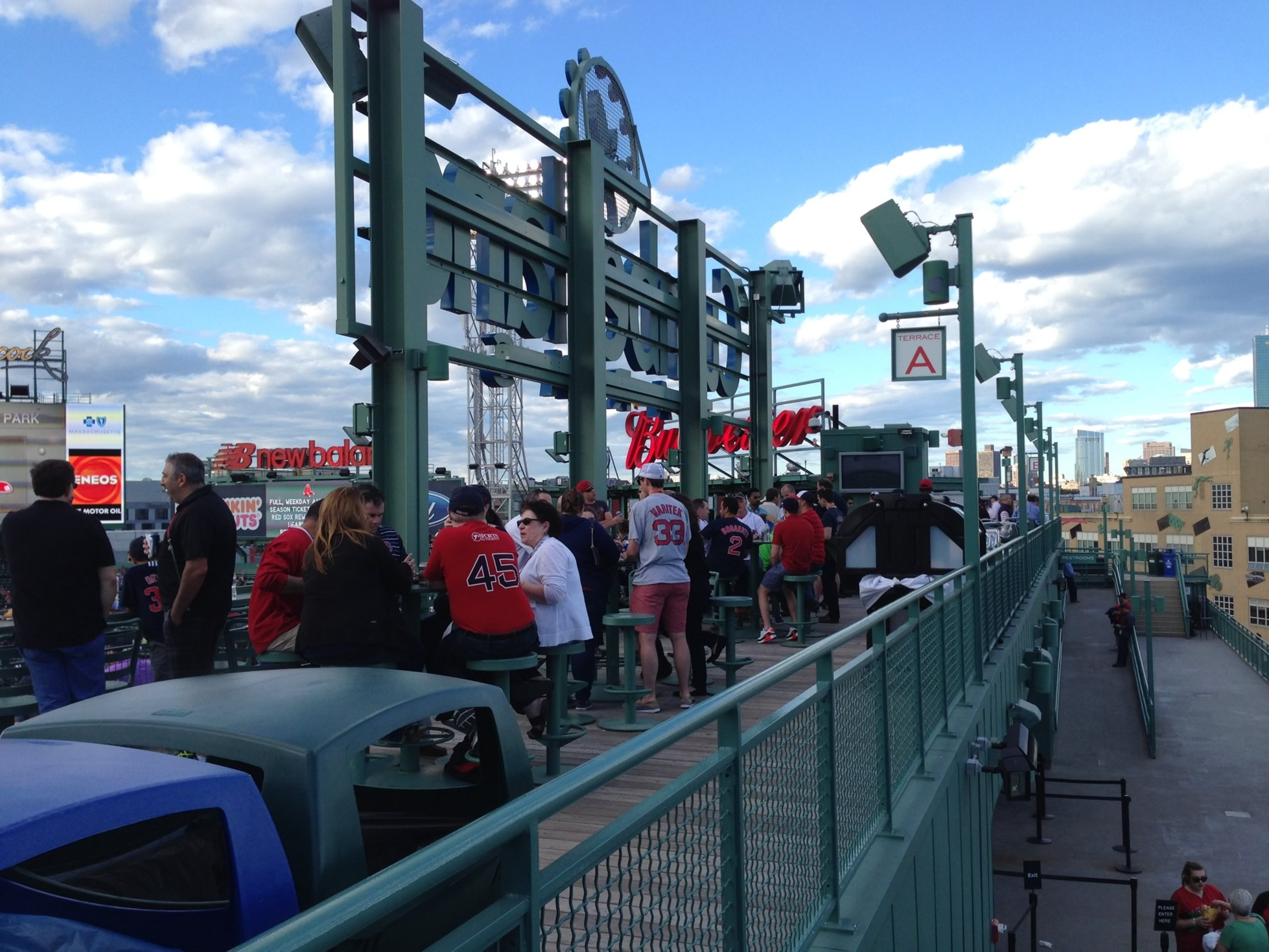 Fenway Park Pavilion Reserved And Sro Baseball Seating