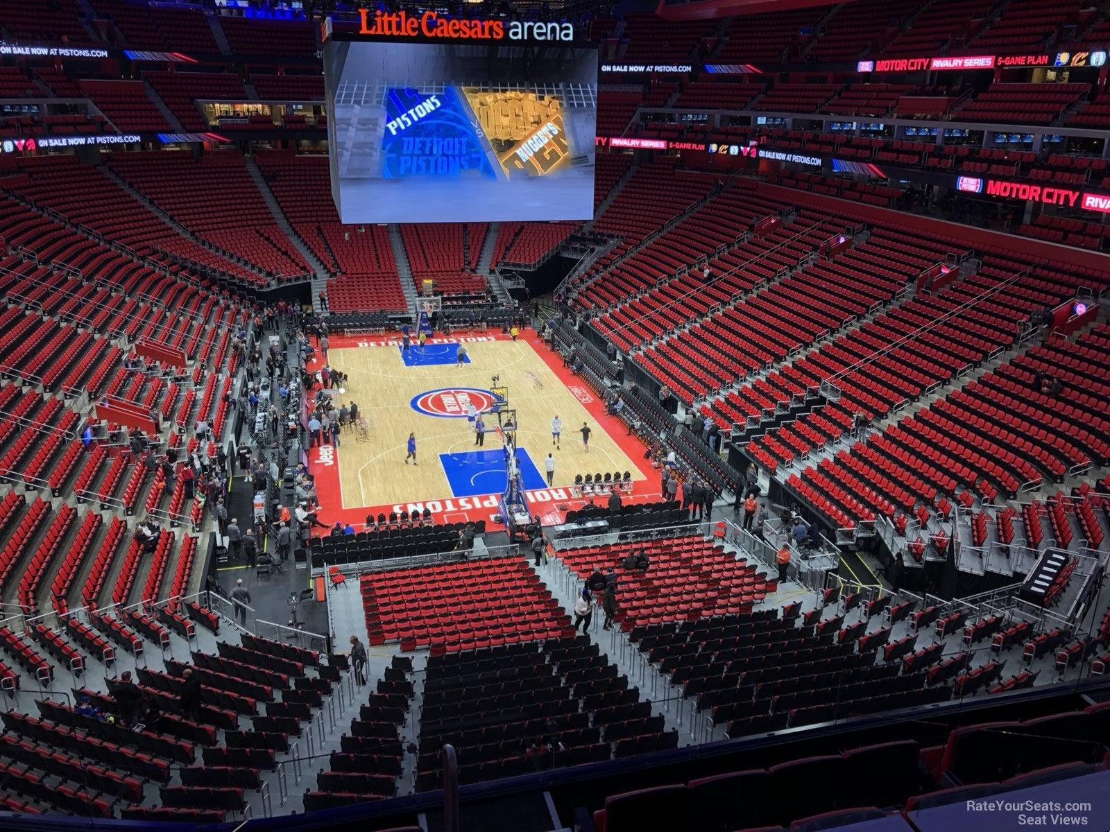 Little Caesars Arena Mezzanine 20 - Detroit Pistons