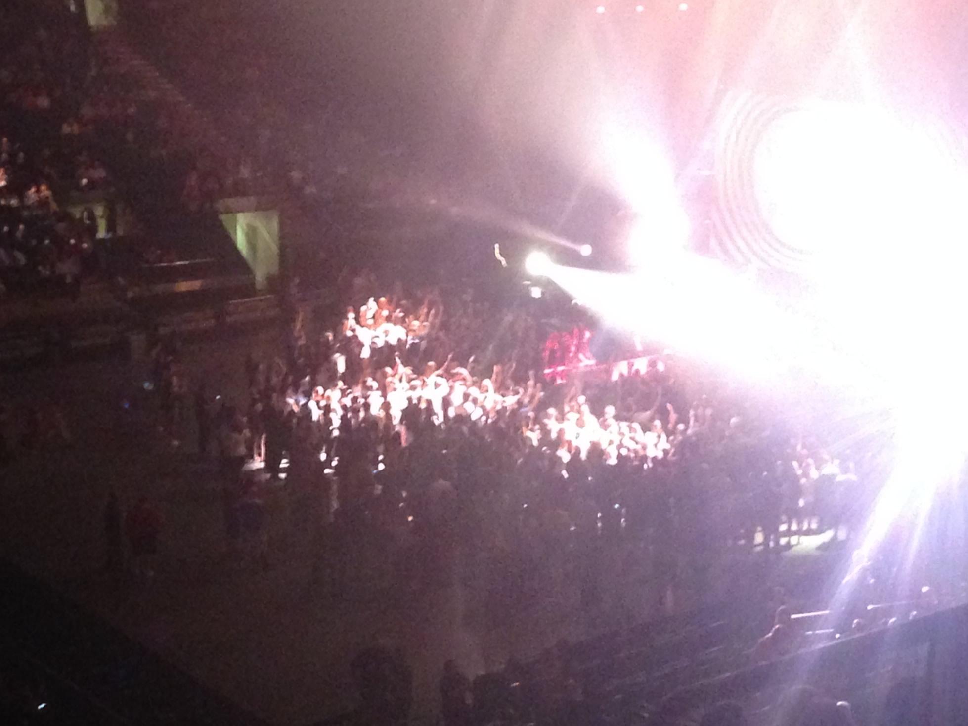 Madison Square Garden Floor - Concert