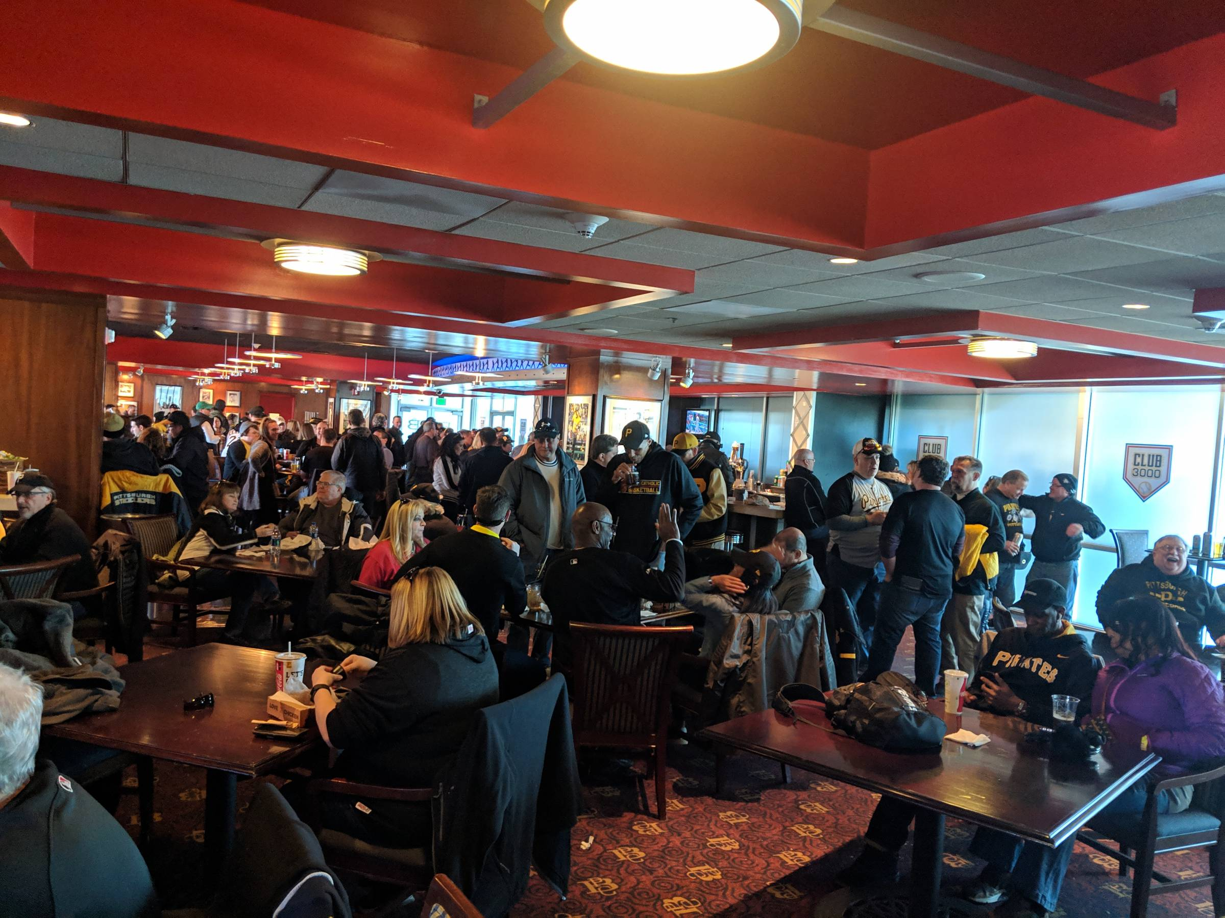 Pittsburgh Pirates Club Seating at PNC Park - RateYourSeats com