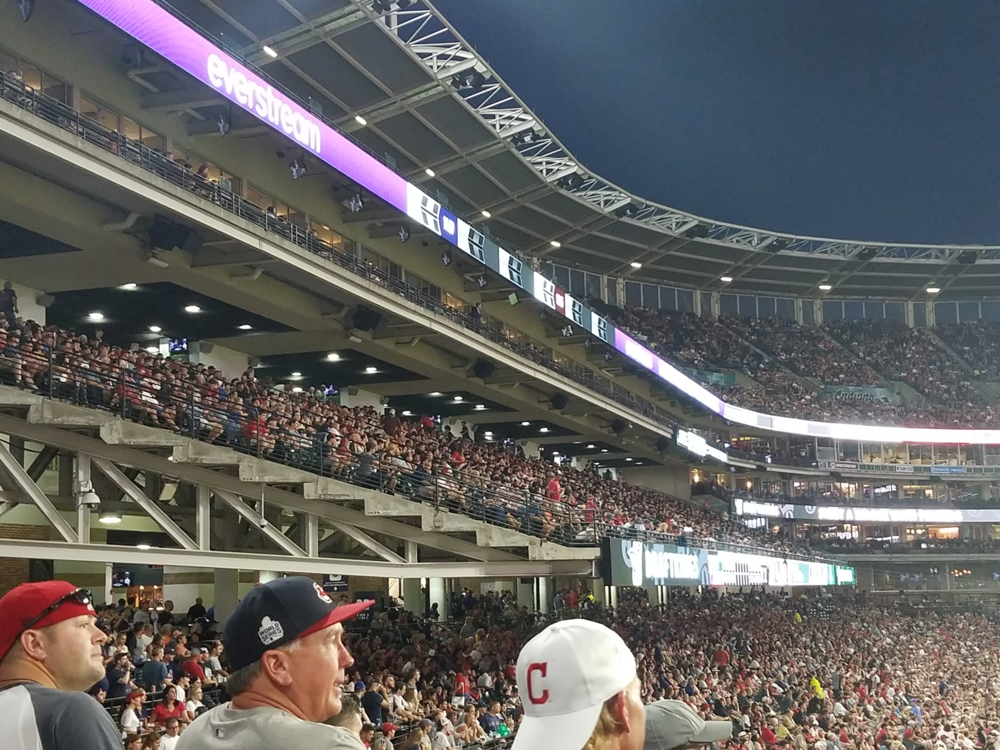 Cleveland Indians Club Seating At Progressive Field