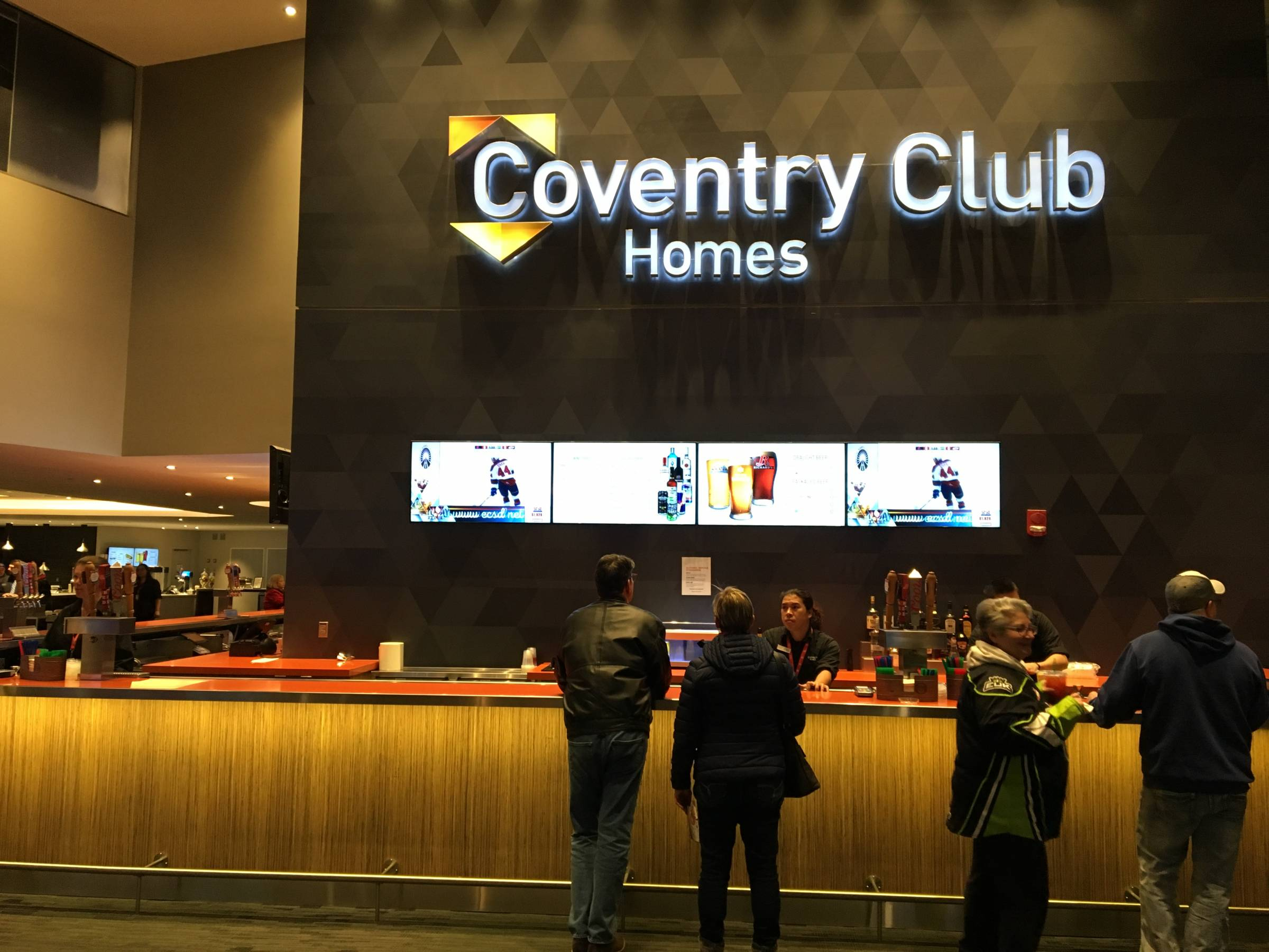 Coventry Home Club at Rogers Place