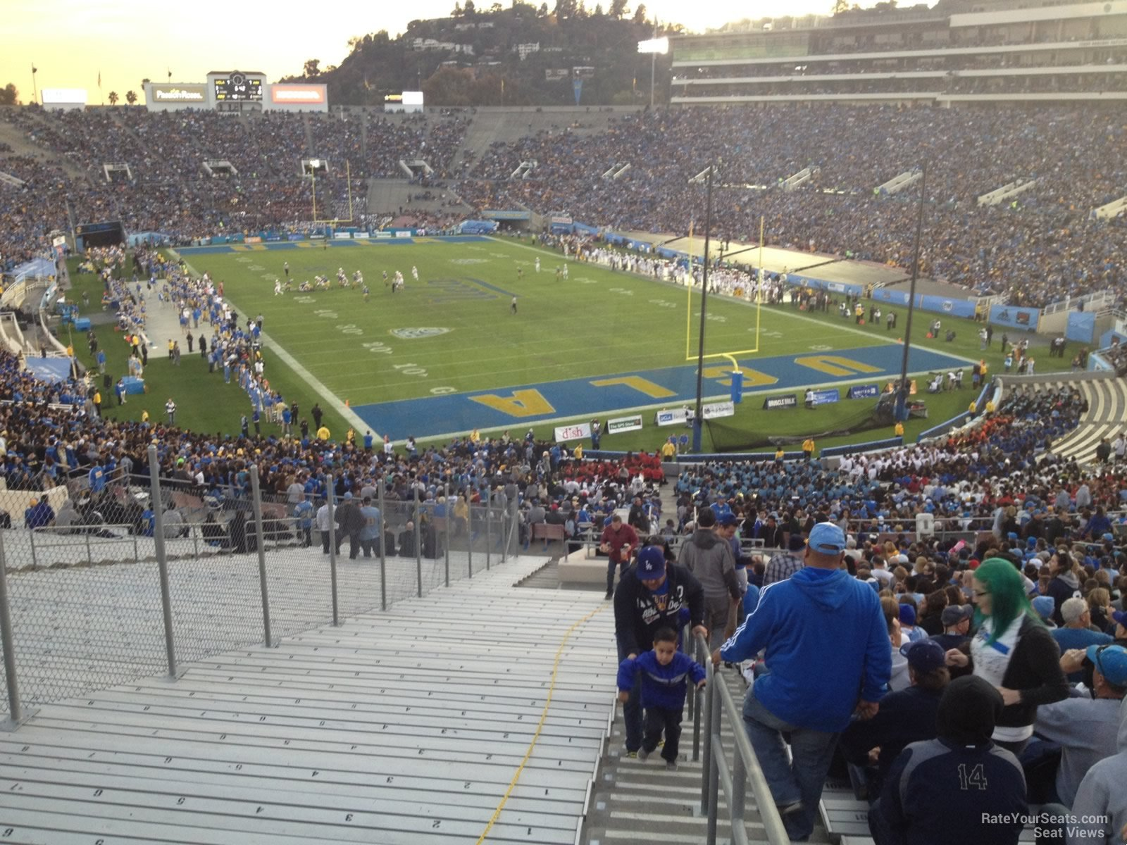 Rose Bowl Stadium Section 10 Ucla