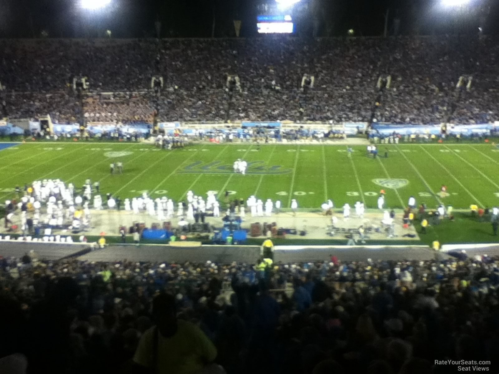 Seat View for Rose Bowl Stadium Section 20, Row 50