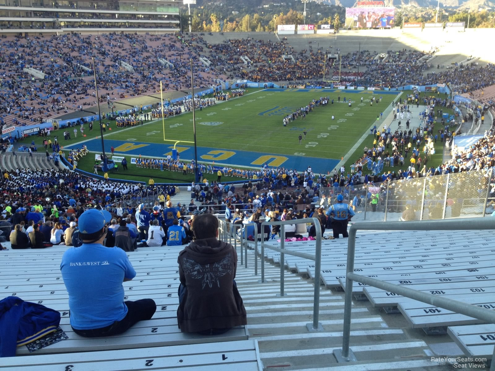 Rose Bowl Stadium Section 26 Ucla