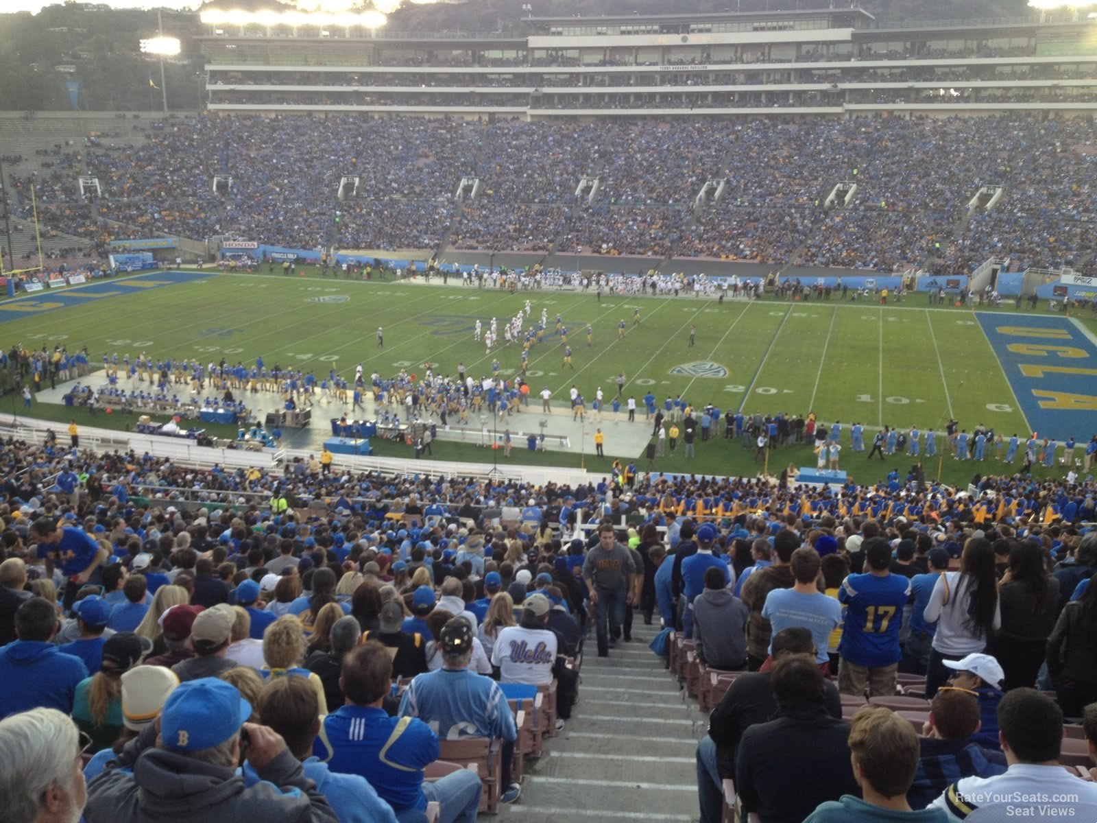Seat View for Rose Bowl Stadium Section 6, Row 70