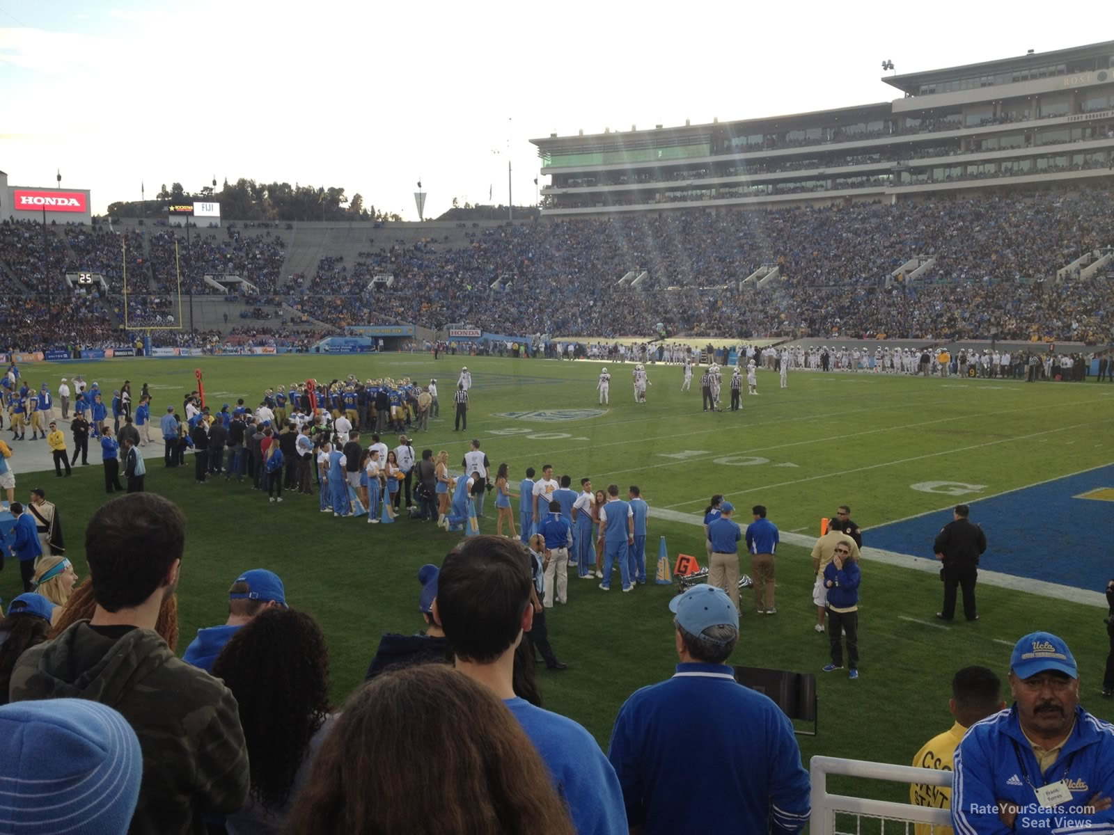 Seat View for Rose Bowl Stadium Section 8, Row 10