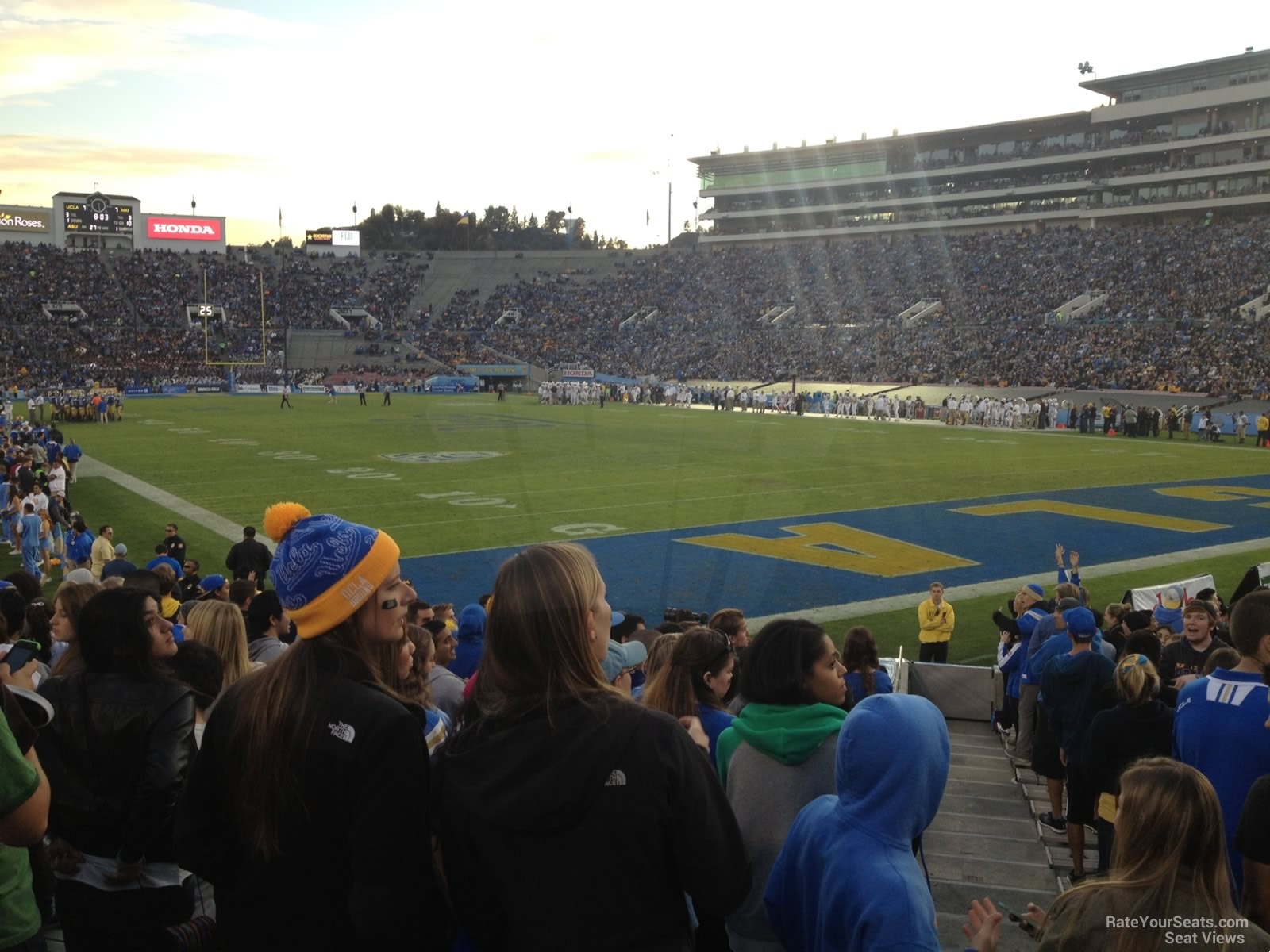 Seat View for Rose Bowl Stadium Section 9, Row 10