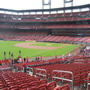 Seat View for Busch Stadium Section 165, Row 16