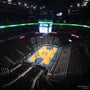 Seat View for Chesapeake Energy Arena Section 314, Row J