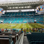Seat View for Hard Rock Stadium Section 144, Row 23