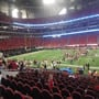 Atlanta Falcons Seat View for Mercedes-Benz Stadium Club 110, Row 14
